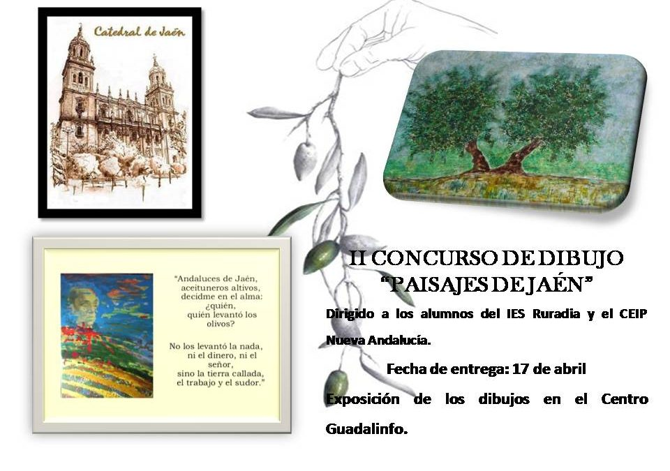 II Concurso de dibujo «Paisajes de Jaén»