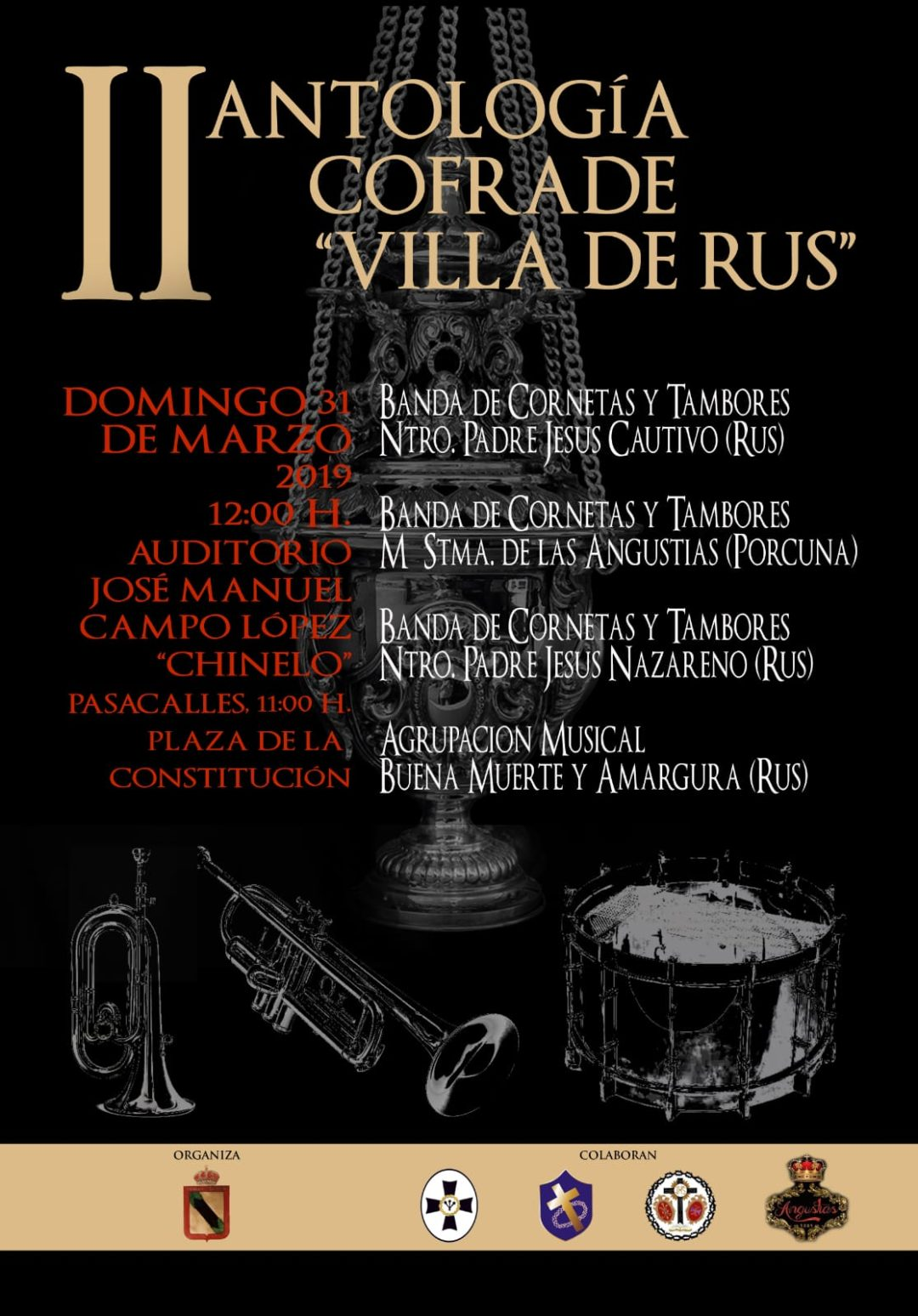 II Antología Cofrade «Villa de Rus»
