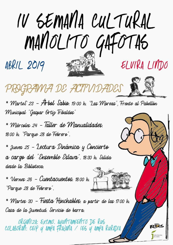 IV Semana Cultural «Manolito Gafotas»