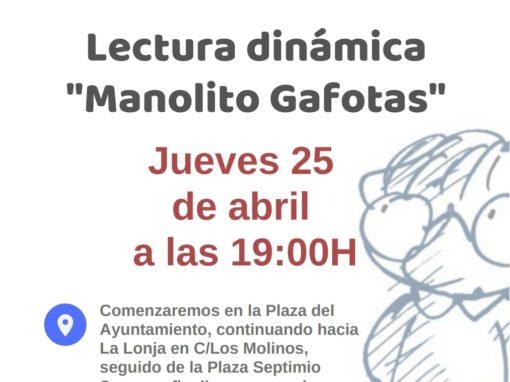 Lectura Dinámica «Manolito Gafotas»