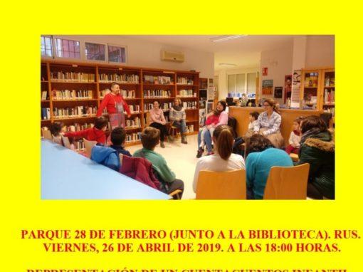 VIII Ciclo de Cuentacuentos de La Loma y Las Villas