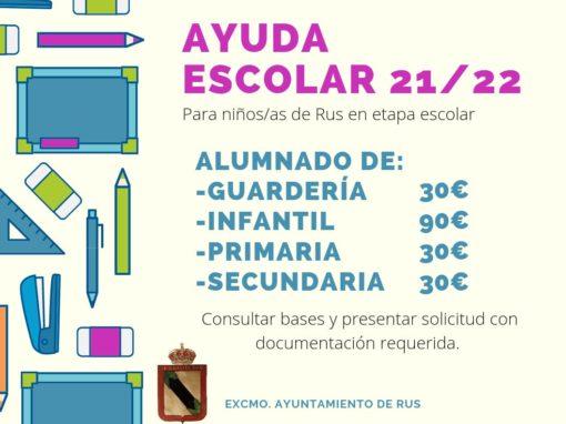 Ayuda Escolar 21/22