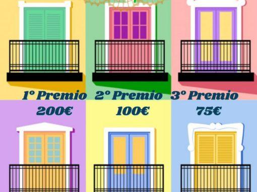Concurso embellecimiento de balcones y ventanas